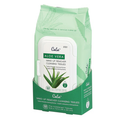 Make Up - Make Up Accessories - Cala - Aloe Vera Make Up Remover Cleansing Tissues
