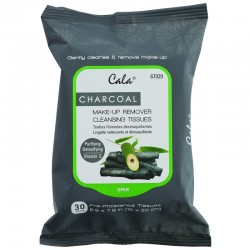 Make Up - Make Up Accessories - Cala - Charcoal Make-up Cleansing Tissues